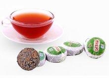 42pcs Lotus Leaf Puerh tea, Ripe Pu'er tuo cha ,A2PT34, Free Shipping