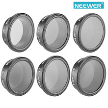 Neewer 6 Pieces Professional Drone Camera Filter Set+Protective Carrying Pouch for GoPro Hero 3+ / 4 GoPro Accessaries