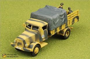 Фотография FOV 85061 1:72 WWII German Bussing truck heavy truck alloy 4500A Edition Desert FM