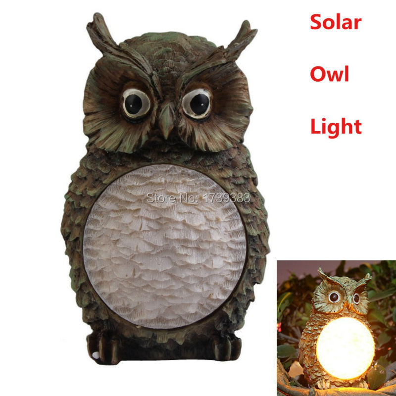 Owl yard decorations bing images for Decorative birds for outside