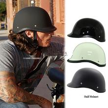 Buy Motorcycle Helmet motorcross Capacete German Half Helmet Harley cascos para moto casco motorcross helmets for $20.89 in AliExpress store