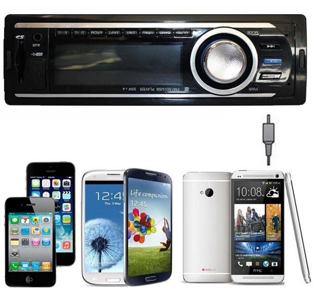 Car radio Audio Stereo Dash FM Receiver MP3/4 Player SD USB Input transmitter car remote control - Guanzghou Klarheit 1 store