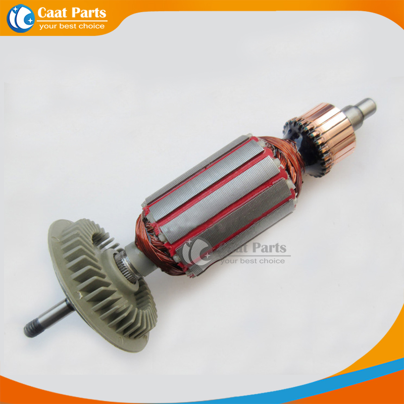 AC 220V Drive Shaft Electric Hammer Armature Rotor for Bosch GWS6-100,High-quality! Free shipping!(China (Mainland))