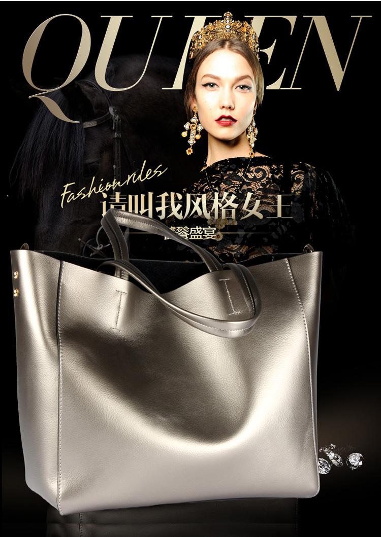product Hot sell women handbag Leather bags women shoulder bags solid bag desigual vintage bag bolsas feminine for bolsa