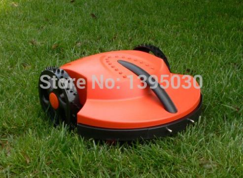 Free Shipping By DHL 1Pcs/Lot Intelligent lawn mower auto grass cutter, auto recharge, robot grass cutter garden tool(China (Mainland))