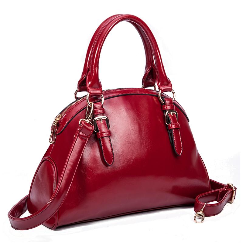 Schoudertassen Vrouwen Leer : Kopen wholesale dames merk tassen uit china