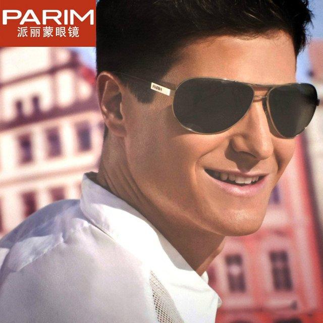 The left bank of glasses male parim polarized sunglasses casual sunglasses 3103