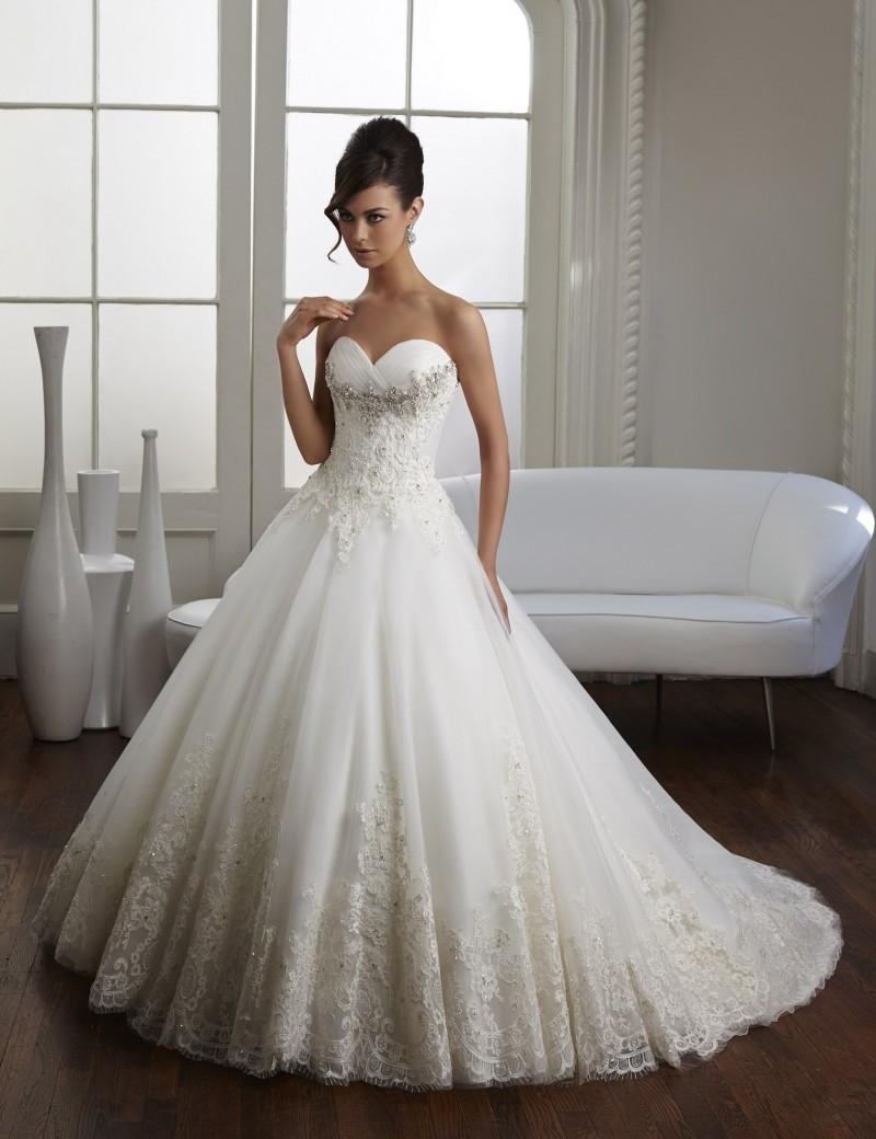Vestido Novia мода стиль милая тюль платье невесты линия бусины аппликации кружева свадебные платья новое поступление 2016