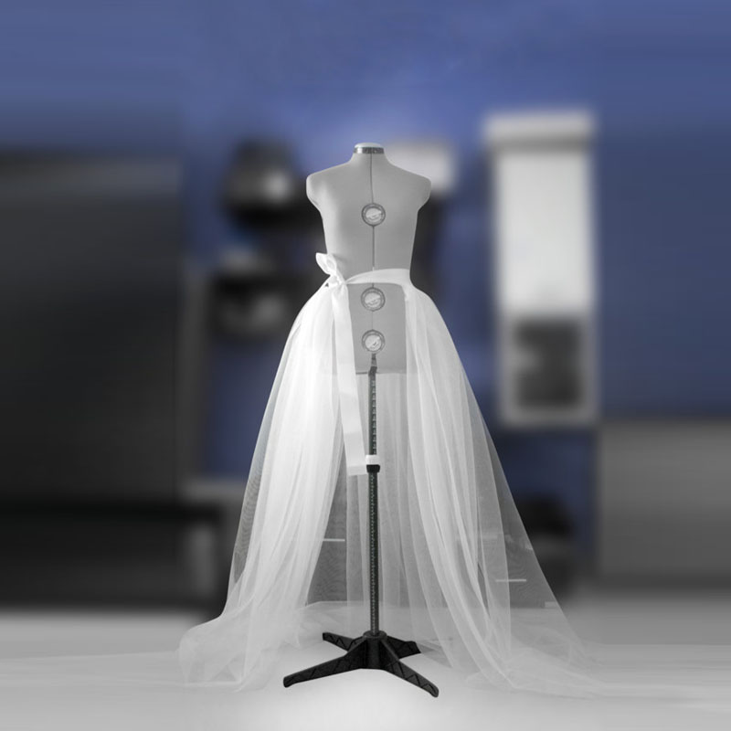 Detachable tulle overskirt Bridal overskirt White Prom Bridal train Wedding gown Bridesmaid's Maxi Satin ribbon band Top skirt Transparent