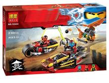 2016 NEW BELA Kai's Blade Mech Building Blocks Set Minifigures Ninja Figures Gifts toys Bricks Compatible Legoelieds Vehicle - Super Toy Factory store