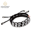 2016 Fashion snap button jewelry leather bracelets Valentine s Day Gift Hers and His charm bracelet
