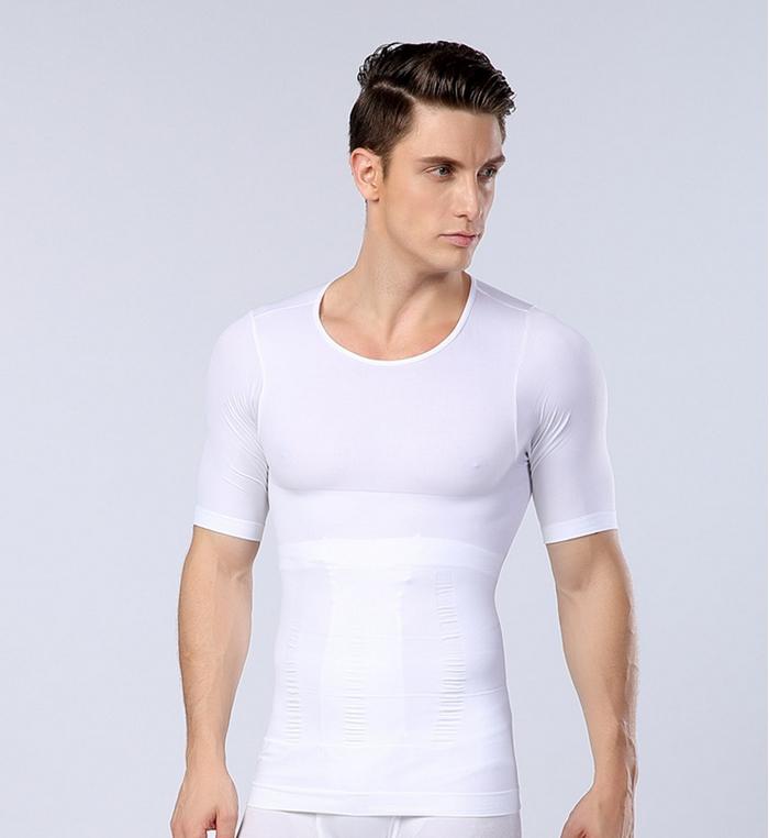 Men Chest font b Shaper b font Bodybuilding Slimming Belly Abdomen Tummy Fat Burn Posture Corrector