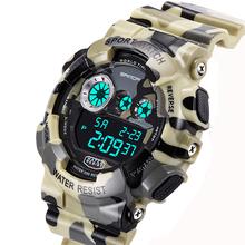 Shock Men's Luxury Analog Quartz Digital Watch Men G Style Waterproof Sports Military Watches 2016 New Brand SANDA Fashion Watch