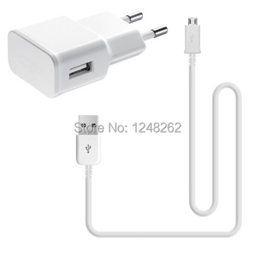 good micro USB Cable 2A Adapter EU/US Plug Wall Charger Samsung Note2 N7100 i9220 S4 i9500 S3 i9300 s2 s5 Fast Charging - ZAOZAO'S STORE store