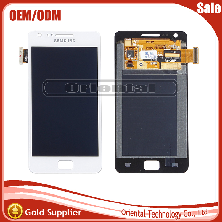 Original New For Samsung i9100 Galaxy S2 LCD Touch Screen Digitizer Free shipping
