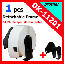 100 x Rolls Brother Compatible Labels DK-11201, 29 x 90mm, 400 labels / roll, DK 11201, DK 1201 with plastic frame