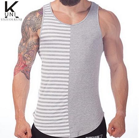 Mens tank top stringer fashion 2016 cotton slim fit men for Best mens dress shirts 2016