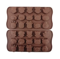 Macaron Mat Baking Cookies Pastry Mold Silicone Sheet Homemade - Makes Animals soap silicone mold