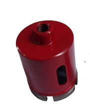 Envío gratis de alta calidad 1 unid alta quuality agujero mármol sierra de diamante 45 mm M10 interno roscado para mármol / perforación de hormigón