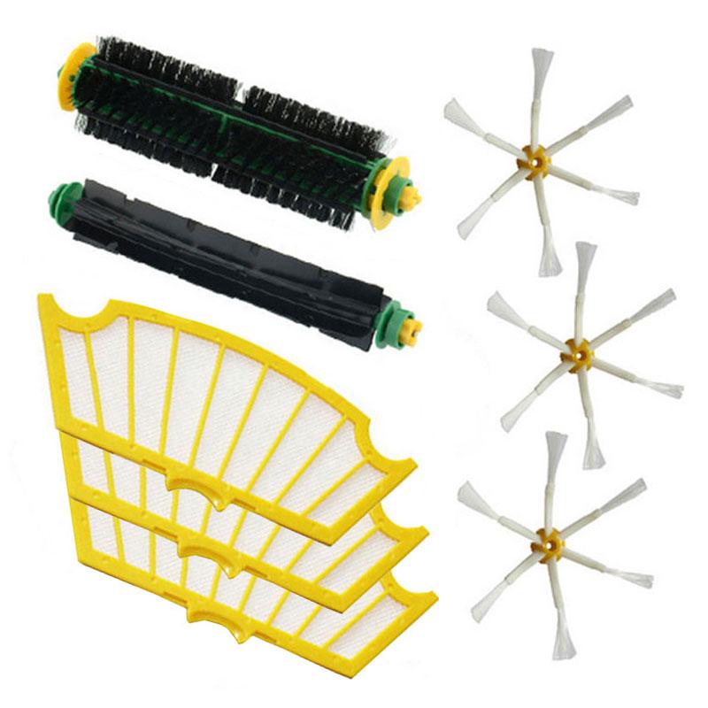 Filter for Vacuum Cleaner Irobot Roomba 500 510 520 530 535 540 550 560 570 580 Brush New(China (Mainland))