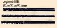 2.5 * 150 mm M2 alargar acero alta velocidad negro broca helicoidal 10 unids = 1 lote