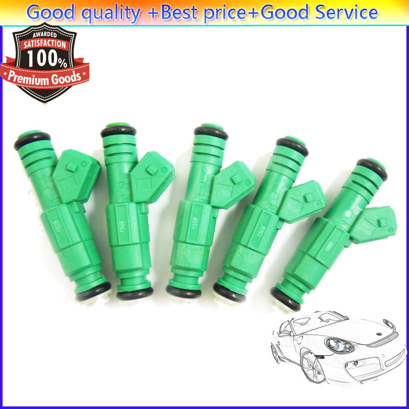5 Pieces Flow Matched Fuel Injector 0280155968For Chevrolet Jeep Ford Audi VW Pontiac Buick Chrysler GMC BMW Dodge Mitsubishi(China (Mainland))