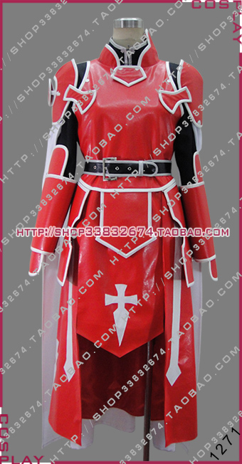 Customized From New Anime Sword Art Online Heathcliff Cosplay Costume Red VersionОдежда и ак�е��уары<br><br><br>Aliexpress
