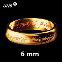 Buy 2017 One Gold Silver Black Plated Lord Rings Women Men Finger Wedding Brand Fashion Jewelry Accessory Wholesale Drop Ship for $1.32 in AliExpress store