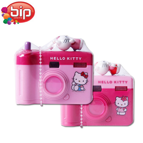 1 pc bip new novel children toy camera plastic candy