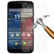 9H 2.5D Ultrathin Real Premium Tempered Glass Film Screen Protector Cover for Motorola Moto X X2 E E2 G G2 G3 2nd 3rd 2 3 Gen(China (Mainland))