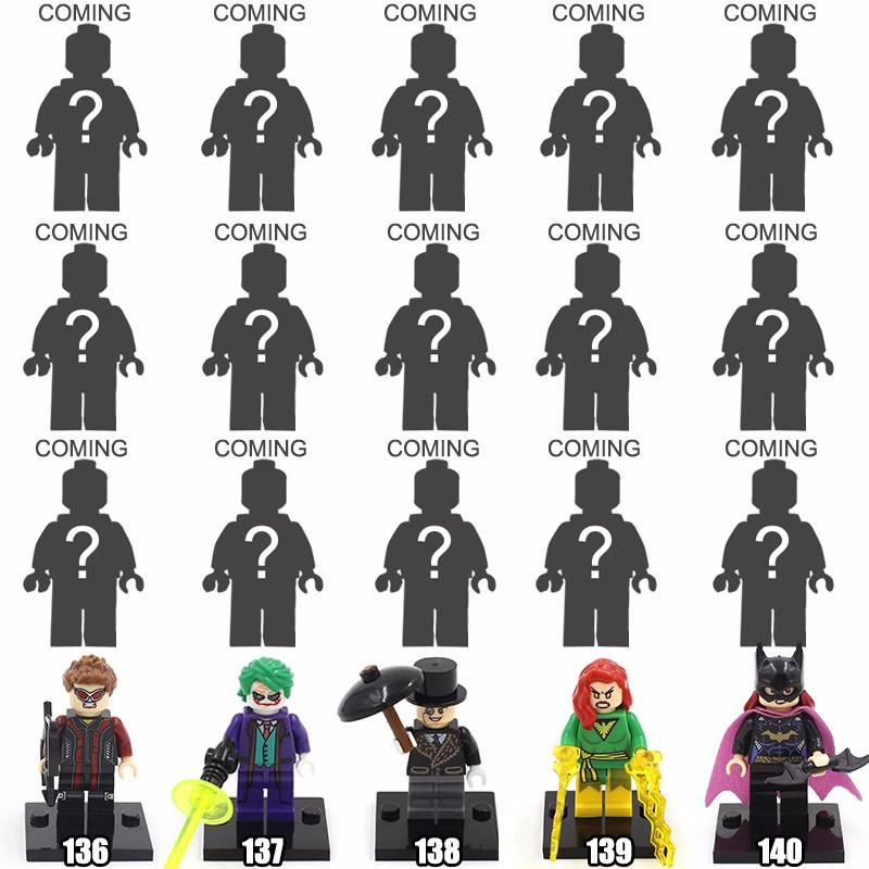 Single Sale XINH 079 Marvel Daredevil's Enemies Bullseye Minifigures Blocks Tremendous Villain Mini Figures Toys Constructing Blocks