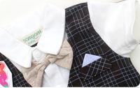 одежда Baby boy летний плед ползунки короткие перемычки наряды bobysuit