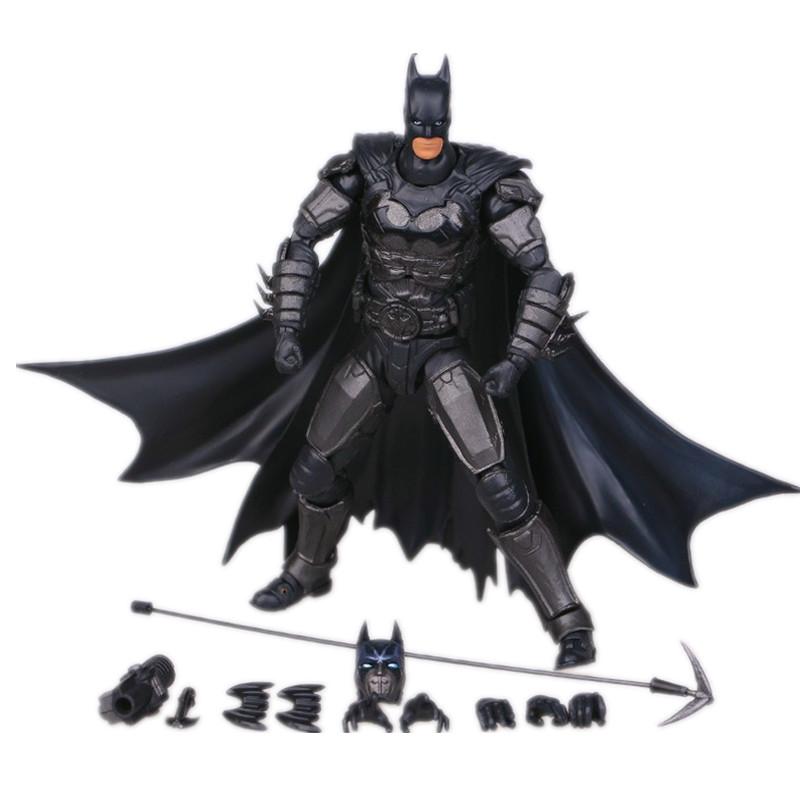16cm Batman Action Figure Justice League Batman Mobile Action Figure Toys The Dark Knight Rises Batman Christmas Doll Toy