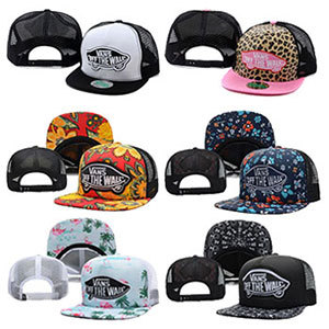 2015 Hot Sale Vanses snapback gorro masculino feminino mesh baseball cap hip hop gorras bone aba reta trucker hats for women men(China (Mainland))