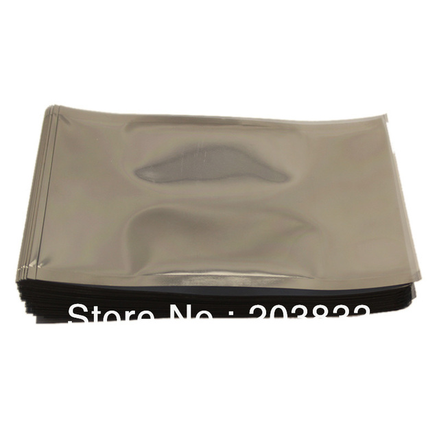 100 PCS Open End Anti-Static ESD Anti Static Shielding Bag 8*12 cm