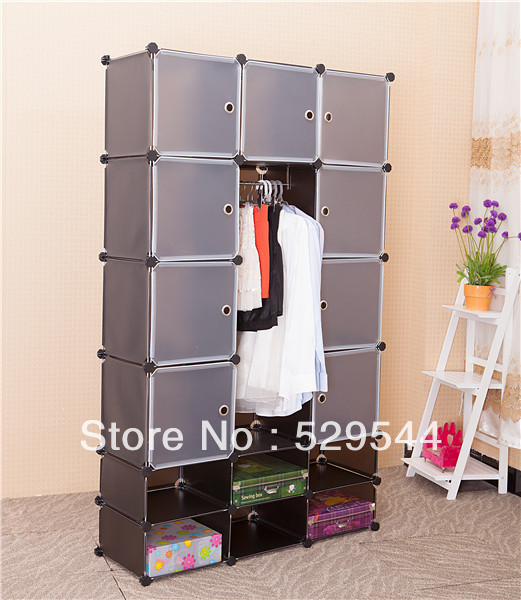 On Sale 1set/lots DIY wardrobe armoire jewelry armoire schrank drawer chest end table garderobe