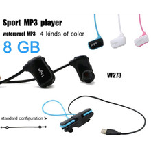 W273 Sports Mp3 Player For Sony Headset 8GB NWZ-W273 Walkman Running Earphone Mp3 Player Headphone For Cycling hiking Free(China (Mainland))