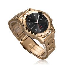 Роскошных умные часы NO. 1 S2 круглым экраном Bluetooth часы для Samsung HTC Huawei iphone 6 / 5S iOS android-коммуникатор сердечного ритма