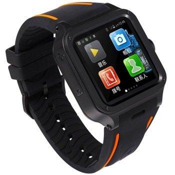 "UNOVA IRON MAN Android 4.4 smart watch phone 3g 1.54"" 320*320 screen dual core 1GRAM 8GROM Support Sim Card WIFI GPS Navigation(China (Mainland))"