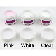 Fashion Pro White Acrylic Powder Nail Arts Glitter powder Nail Art M01274(China (Mainland))