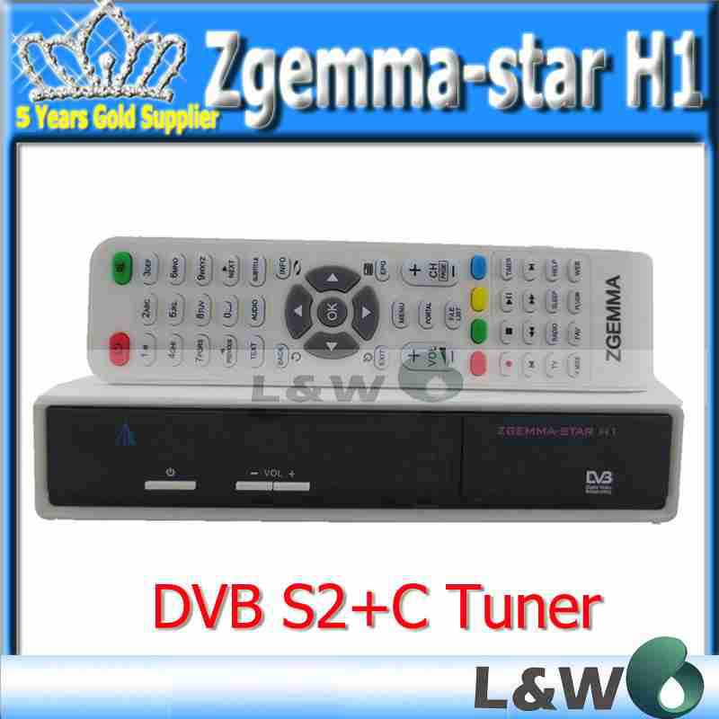 Zgemma star H1 DVB S2+C combo enigma2 linux smart box enigma2 linux OS,kerne linux more than 3.16 Zgemma-star H1 free shipping(China (Mainland))