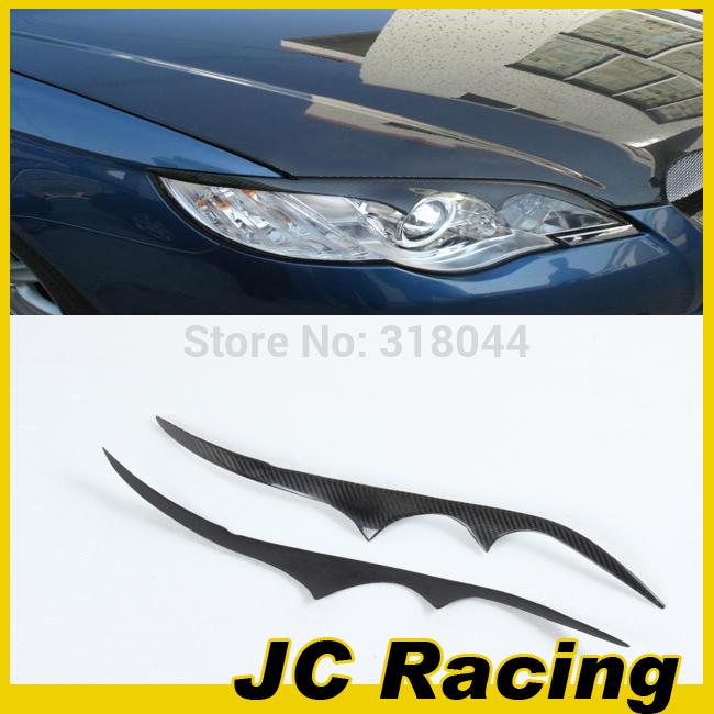 2006-2008 Carbon Fiber Headlamp Eyelids, Auto Car Side Eyebrows For Subaru Legacy (Fit For Legacy 06-08)(China (Mainland))
