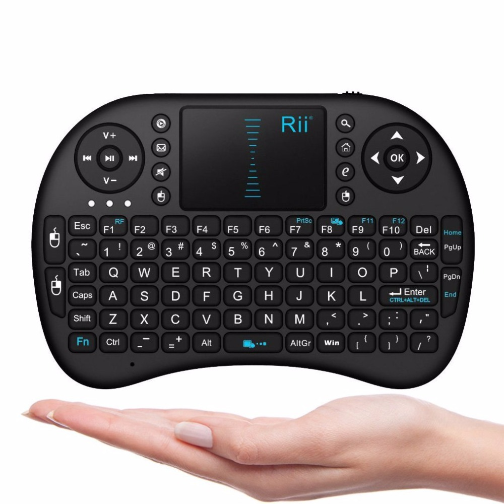 RII I8 2.4G Wireless Mini Air Mouse Remote Touchpad Keyboard for Google Android Tv Box Tvbox Pc Xbox 360 Ps3 Teclado Inalambrico(China (Mainland))