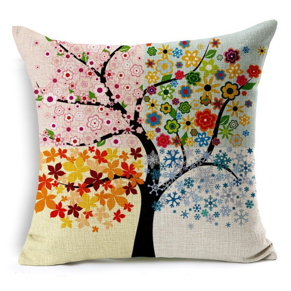 Buy wholesale 18x18 inch four seasons - Housse de coussin 40x40 ...