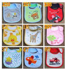 Baby Infants Girl Boy Lunch Bibs Napkin Saliva Towel Cotton Cartoon Waterproof