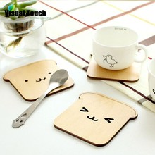 8 Styles Wood Cute Animal Hollow Wooden Carved Cup Pads Mug Coasters Table Pad Shop Bar Tea Coffee Cup Mat Holder Gift(China (Mainland))