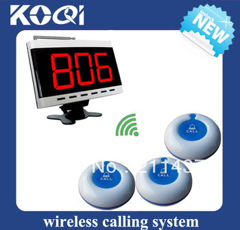 Karaoke service call paging calling system call bell system W 20 room call buttons and 1 LED monitor DHL free shipping free