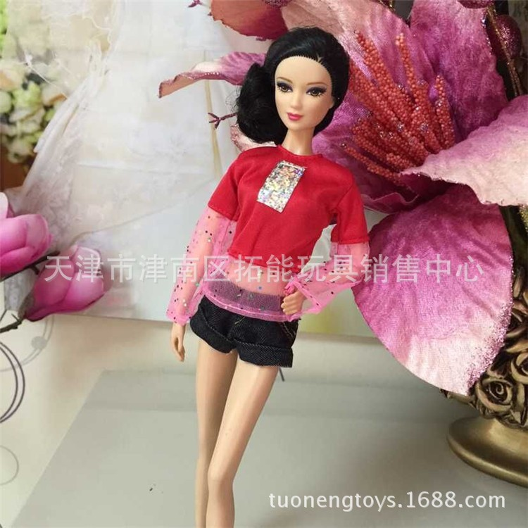 Trend Youngsters Woman Reward pullip Doll Equipment lot garments Princess costume informal swimsuit For Barbie Dolls authentic 1/6 153