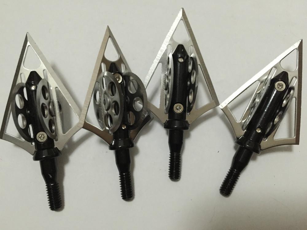 6 pcs Archery Arrow Tips 100GR Hunting Arrow Broadheads for Bow and Arrow Hunting Arrowheads for