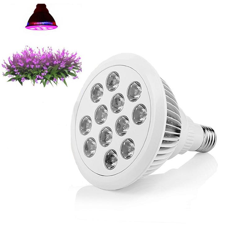 24w LED Grow Light, TaoTronics Plant Grow Lights E27 Growing Bulbs Flower Hydroponics Lamps Garden Hydroponic Lamp  E5M1<br><br>Aliexpress